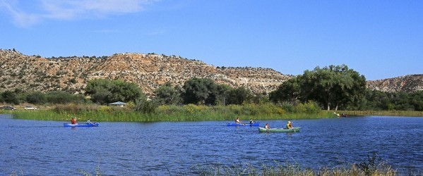 Canoeing on the Verde River at Dead Horse Ranch State Park